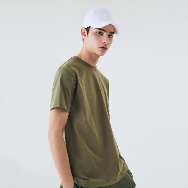 소매 라벨 반팔 티셔츠 클리블랜드 인디언스