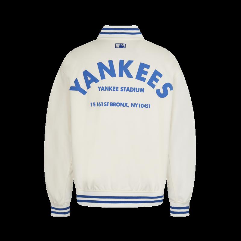 엠엘비(MLB) 팝콘 베이스볼 점퍼 NY (IVORY)