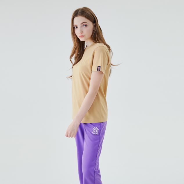 소매 라벨 반팔 티셔츠 보스턴 레드삭스