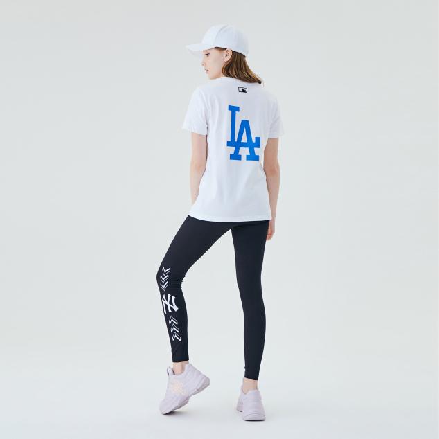 팝콘 빅로고 반팔 티셔츠 LA다저스