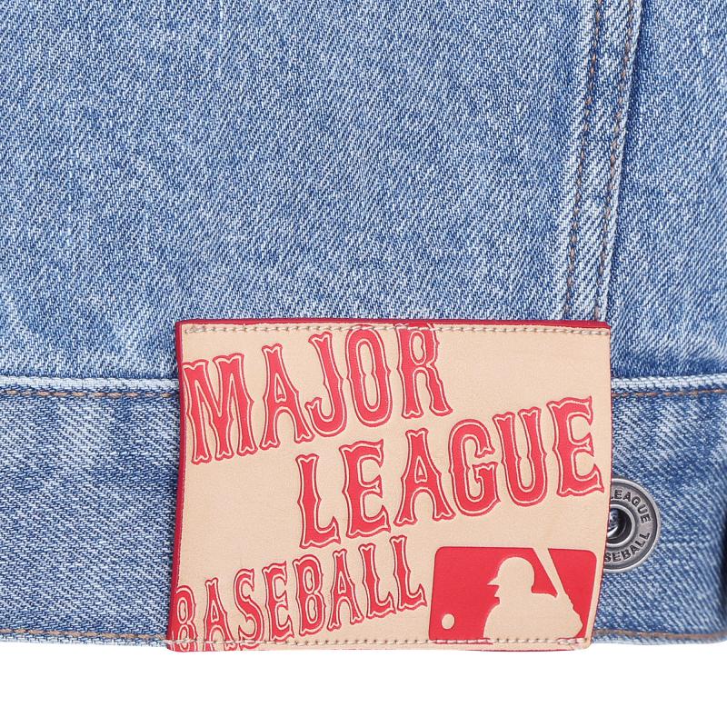 엠엘비(MLB) (W) 빅로고 데님자켓 NY