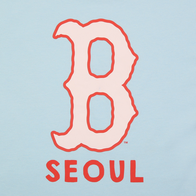 MLB CITY EXCLUSIVE SEOUL 반팔 티셔츠 보스턴 레드삭스