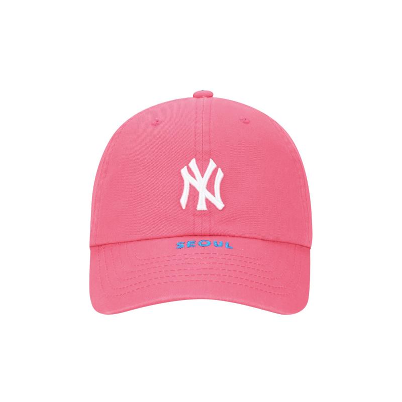 엠엘비(MLB) CITY EXCLUSIVE 볼캡 NY (PINK)