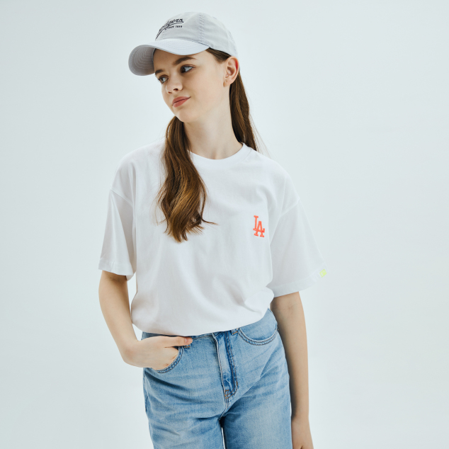 워터컬러 오버핏 반팔 티셔츠 샌프란시스코 자이언츠