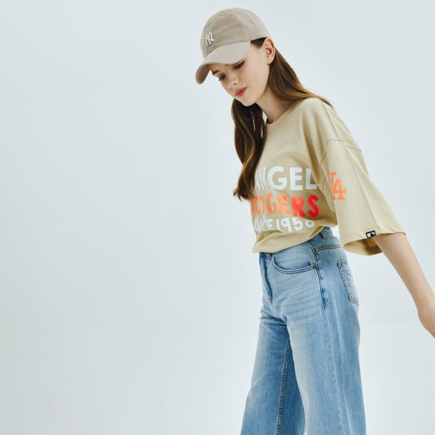 울트라 헤리티지 오버핏 반팔 티셔츠 뉴욕양키스