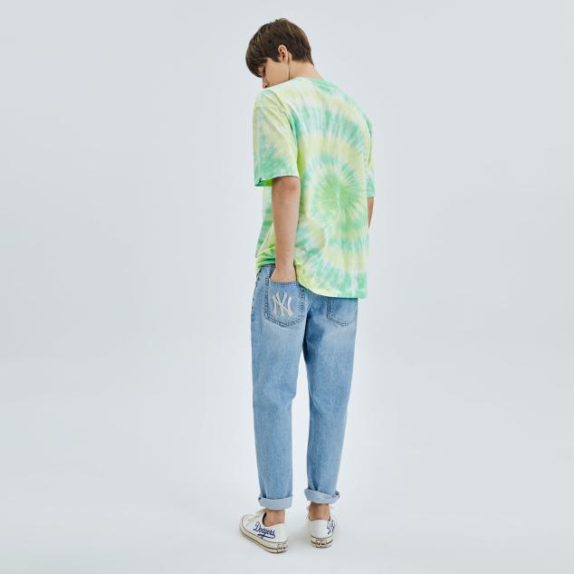 타이다이 써클 오버핏 반팔 티셔츠 샌프란시스코 자이언츠