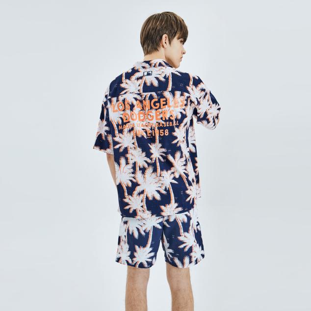 팜트리 전판 프린트 셔츠 LA다저스