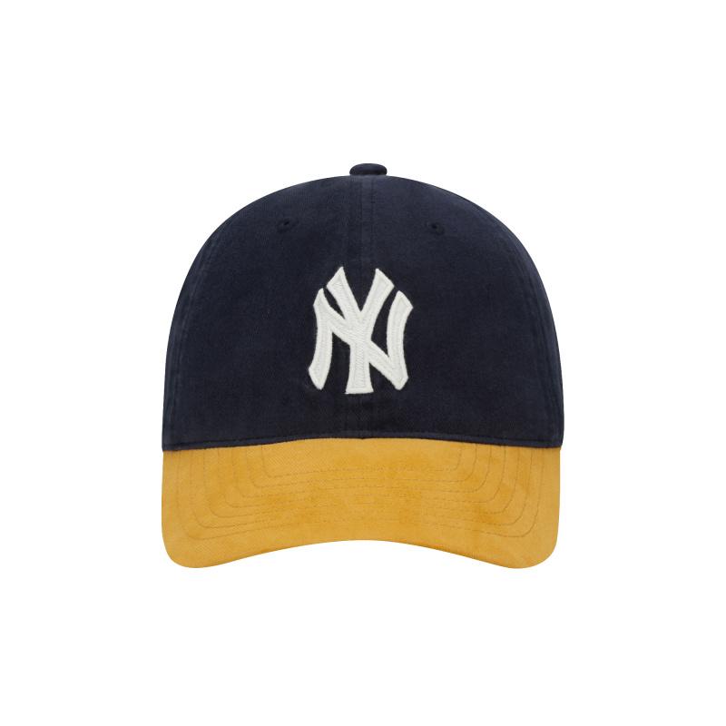 엠엘비(MLB) N-COVER 빈티지 볼캡 NY (NAVY)
