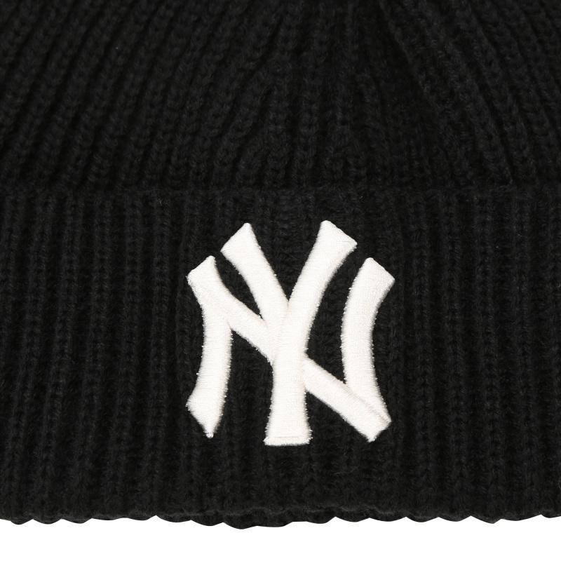 엠엘비(MLB) 베이직 숏비니 NY (BLACK)
