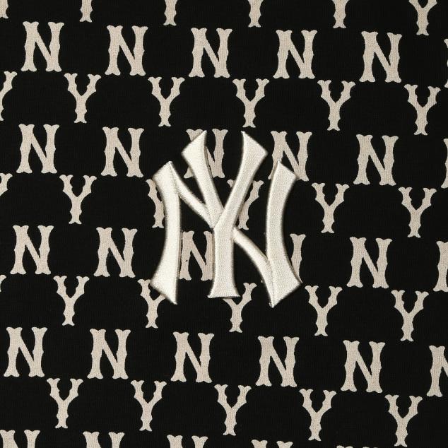 모노그램 전판 오버핏 맨투맨 뉴욕양키스