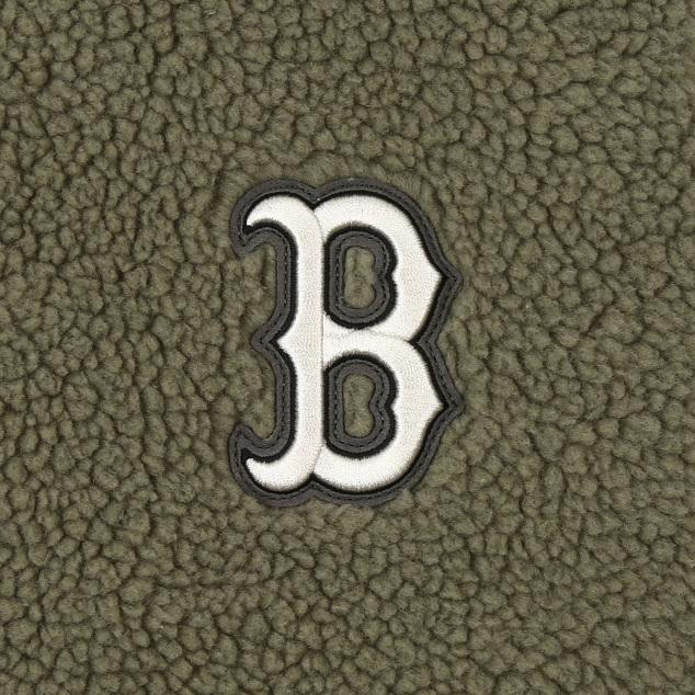 양털 후리스 베이스볼 점퍼