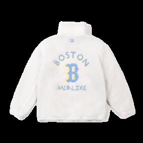 양털 후리스 등로고 점퍼 보스턴 레드삭스