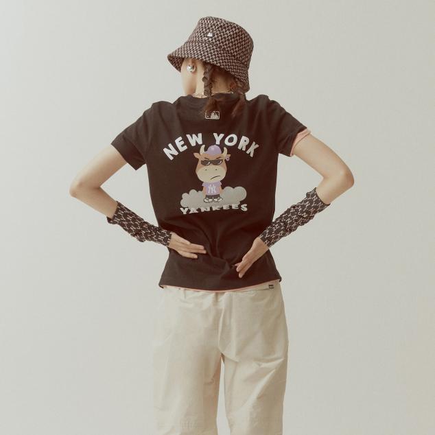 캐시카우 반팔 티셔츠 뉴욕양키스