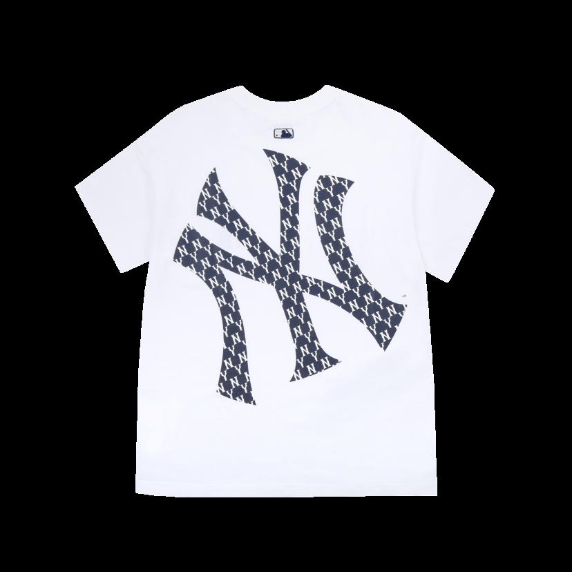 모노그램 메가로고 오버핏 반팔 티셔츠 뉴욕양키스