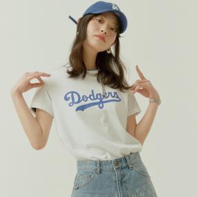 베이직 클래식 로고 반팔 티셔츠 LA다저스