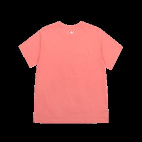 LIKE 단색 팝콘 오버핏 반팔 티셔츠 LA다저스