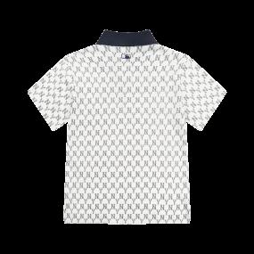 모노그램 올오버 카라 반팔 티셔츠 뉴욕양키스
