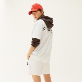 씸볼 라운딩 오버핏 반팔 티셔츠 뉴욕양키스