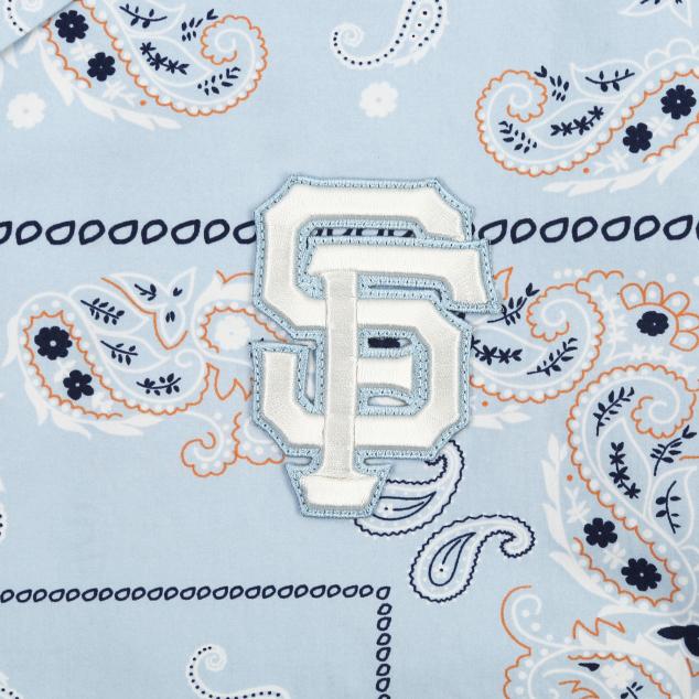 페이즐리 백로고 반팔셔츠 샌프란시스코 자이언츠