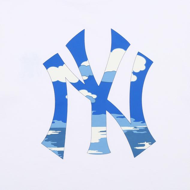 핫썸머 구름 티셔츠 뉴욕양키스