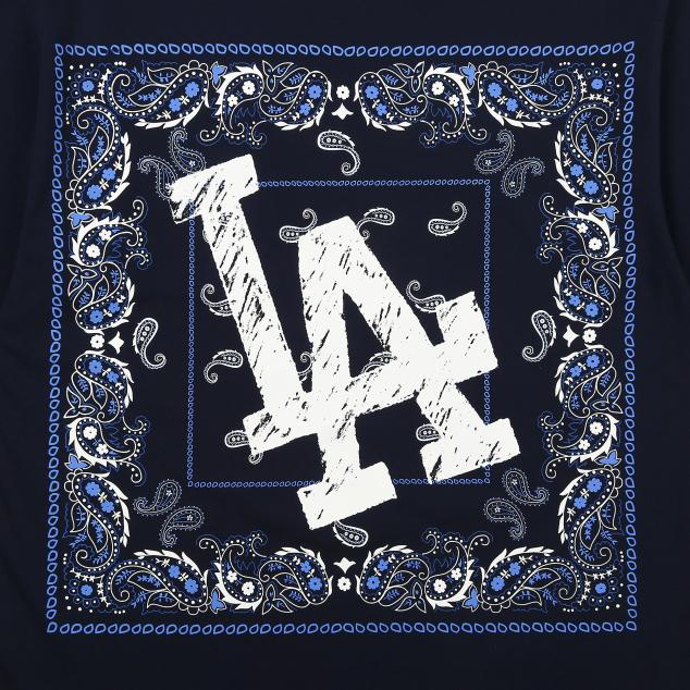 핫썸머 페이즐리 티셔츠 (셋업) LA다저스