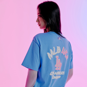 LIKE 오버핏 반팔 티셔츠 LA다저스