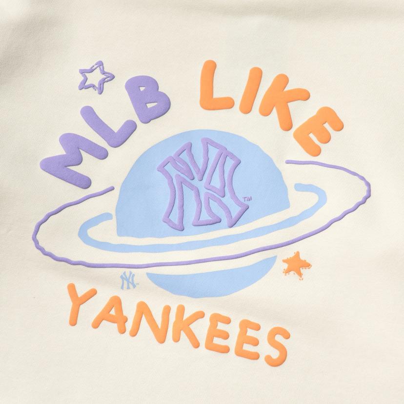 LIKE 플래닛 오버핏 맨투맨 뉴욕양키스
