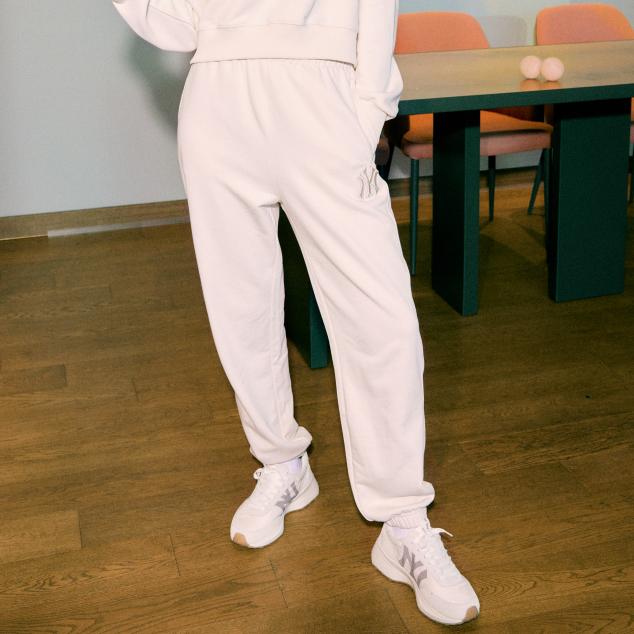 여성 하이라이즈 조거 트레이닝팬츠 (셋업) 뉴욕양키스