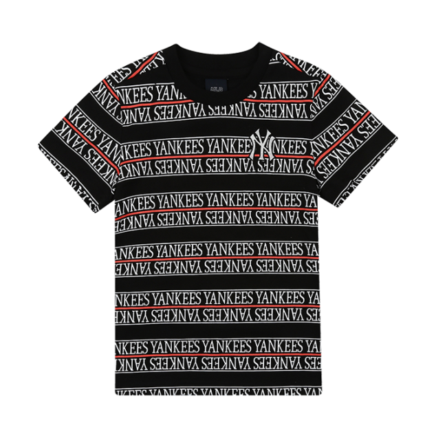 BOYS LOGO STRIPE SHORT SLEEVED T-SHIRT
