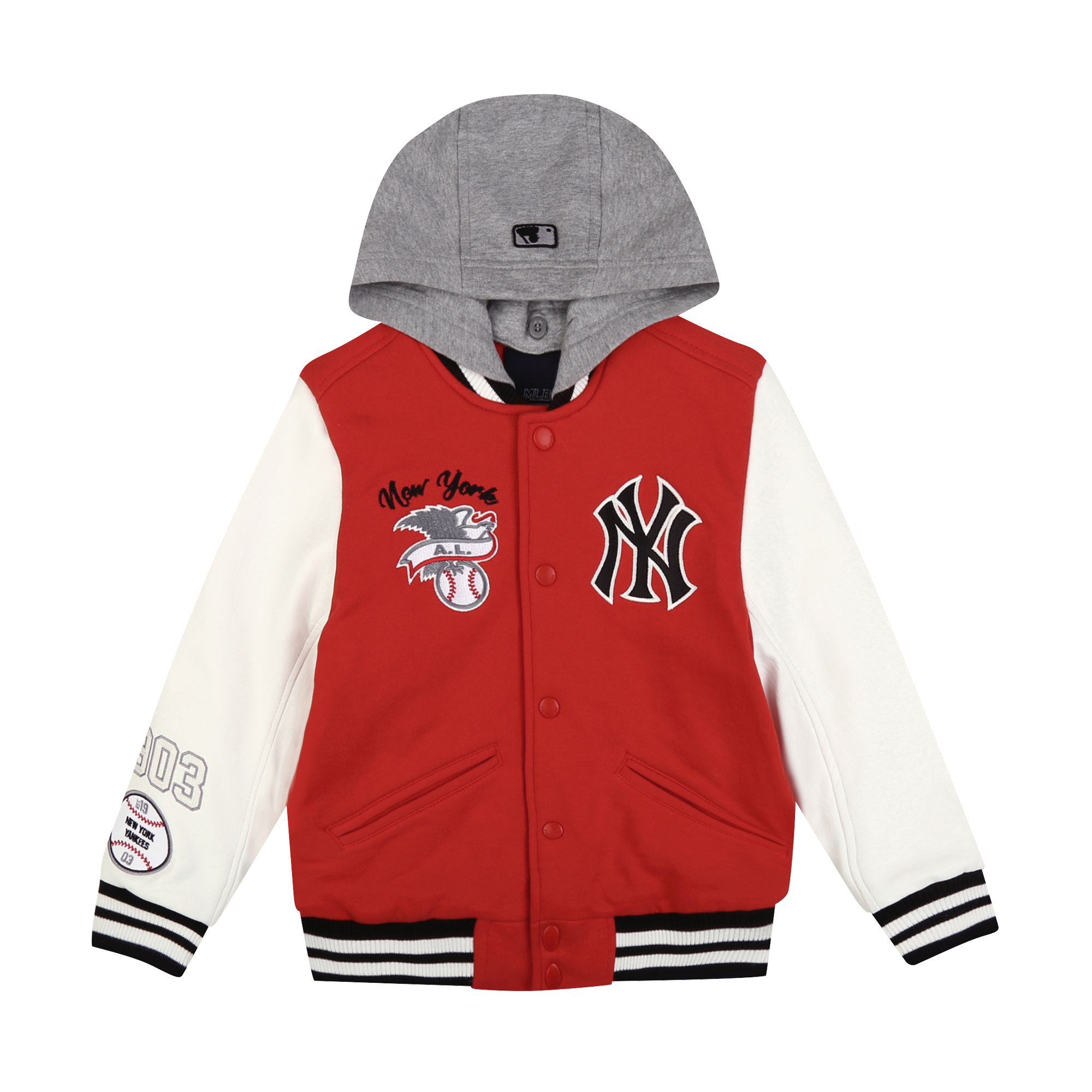 NEW YORK YANKEES UNISEX CAMPUS MONSTER VARSITY JACKET