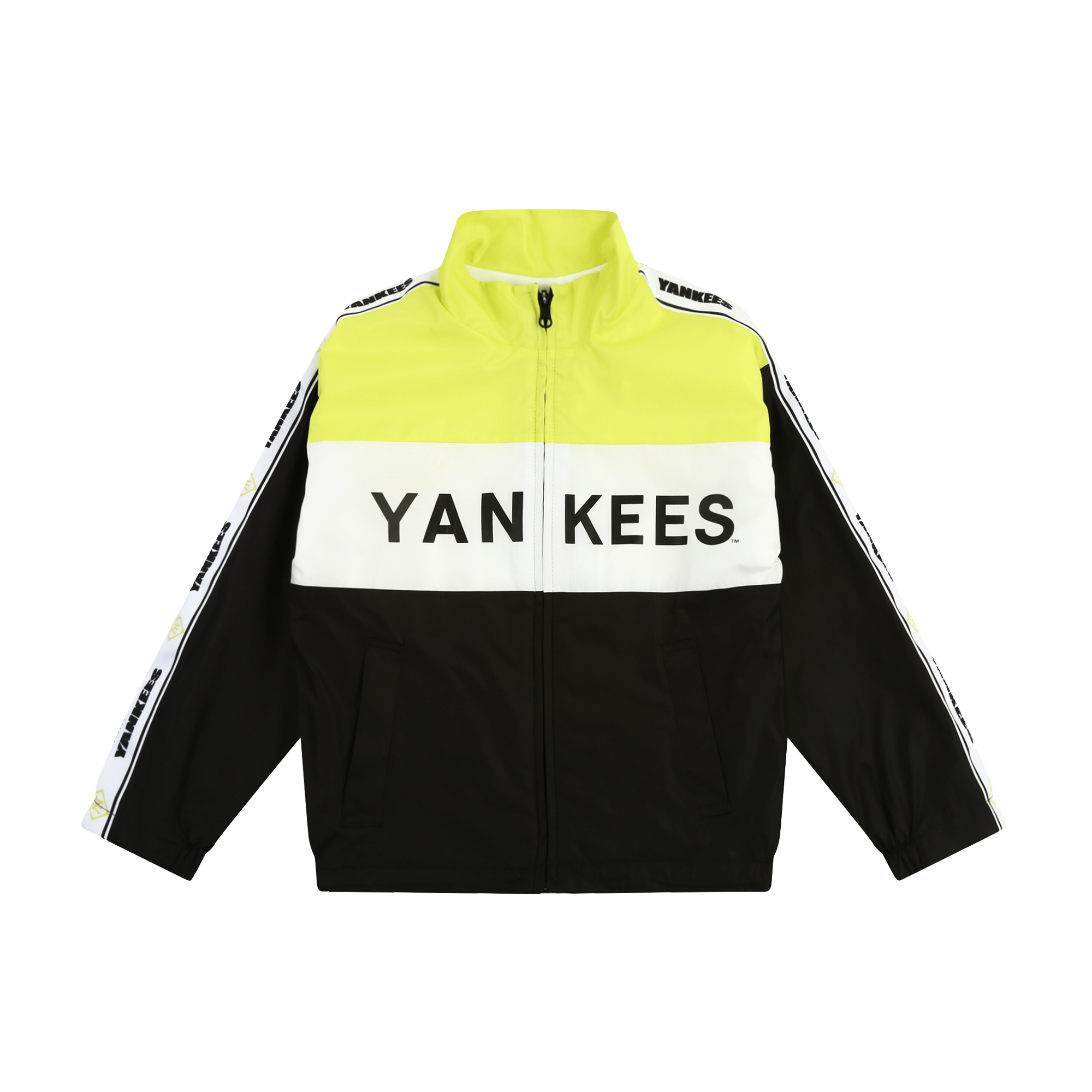 NEW YORK YANKEES UNISEX COLOR BLOCK JACKET