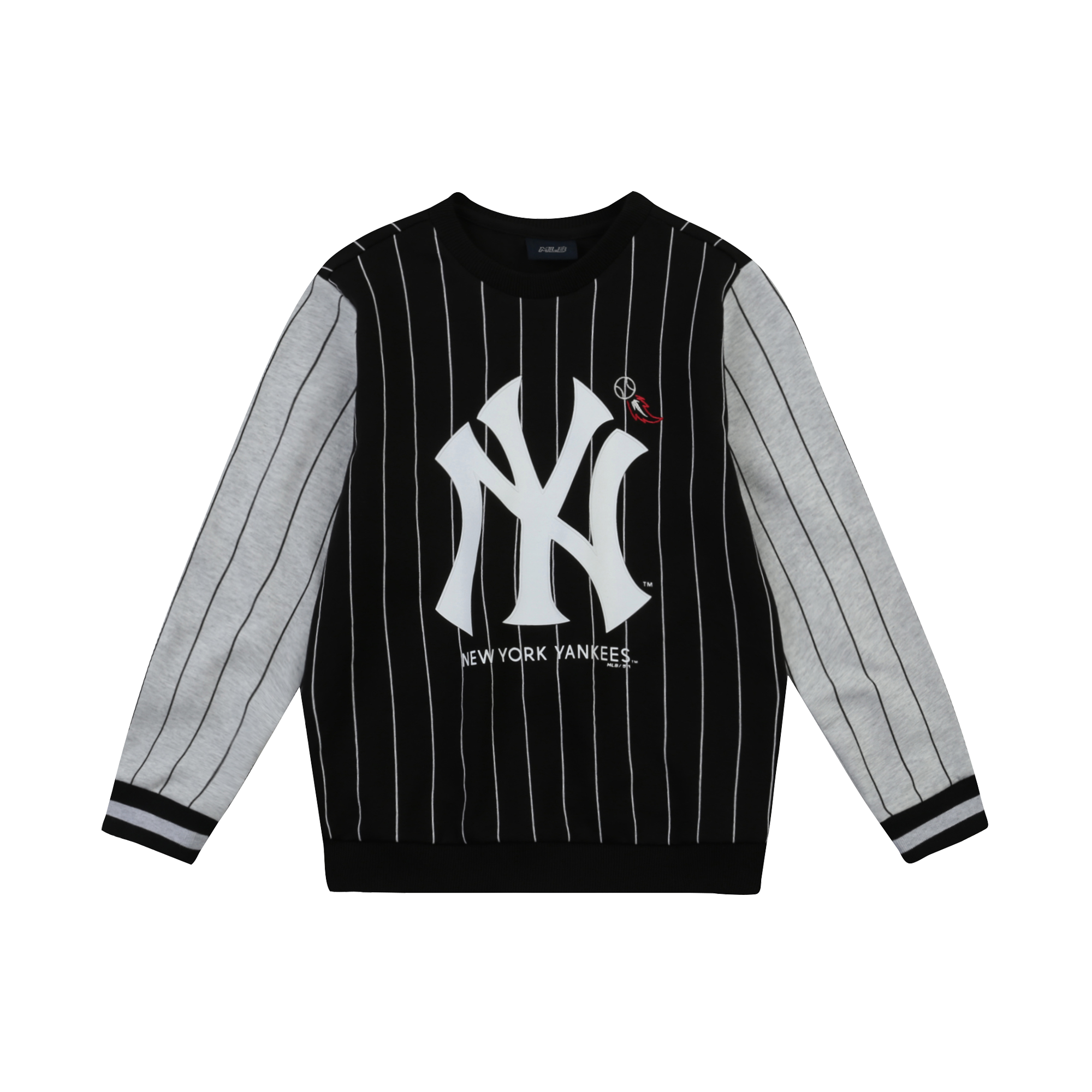NEW YORK YANKEES UNISEX PIN STRIPE SWEATSHIRT