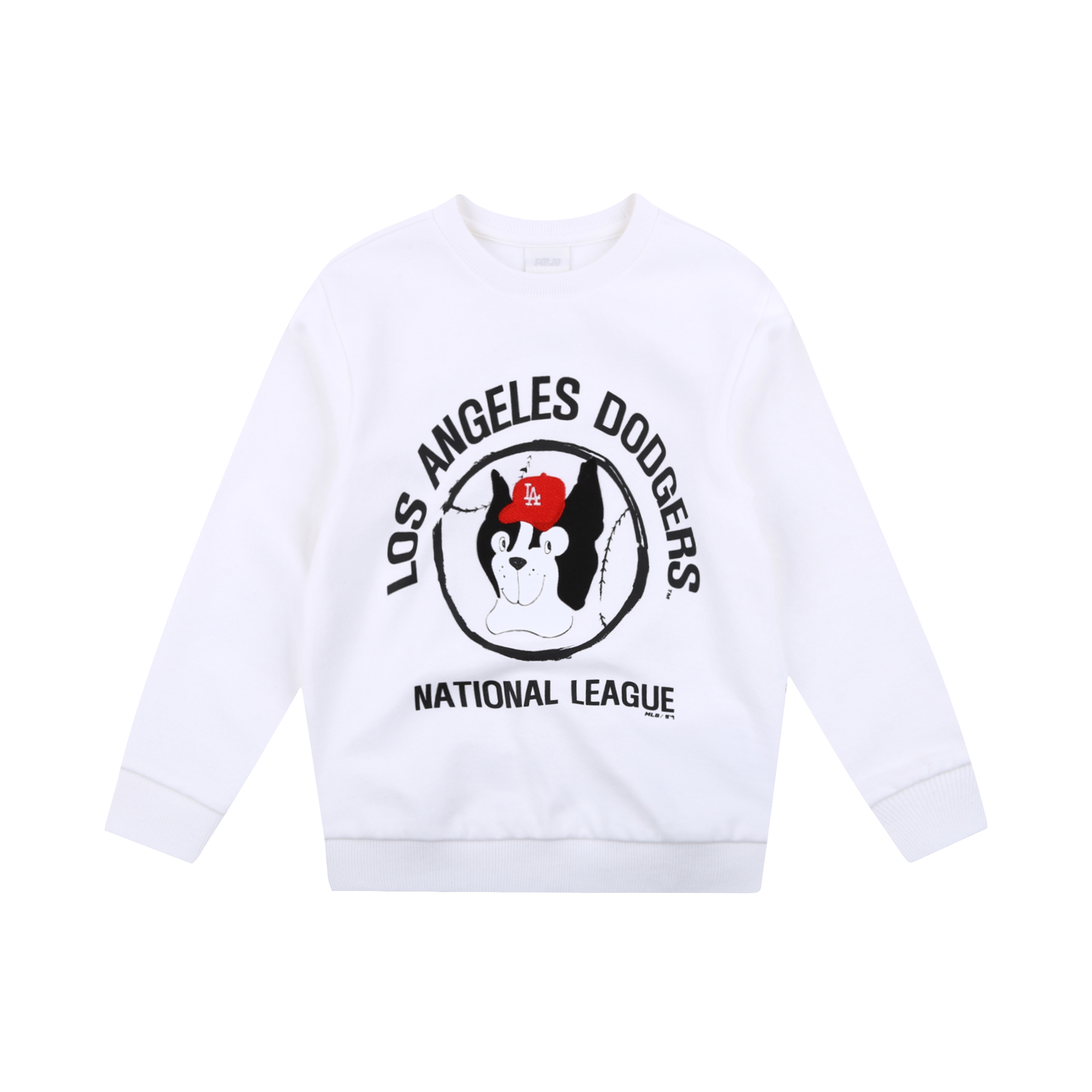 LA DODGERS UNISEX DRAWING BARK SWEATSHIRT