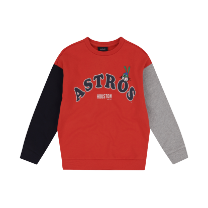 HOUSTON ASTROS UNISEX ATTO COLOR BICOLOR SWEATSHIRT