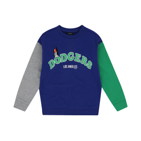 LA DODGERS UNISEX BARK COLOR BICOLOR SWEATSHIRT
