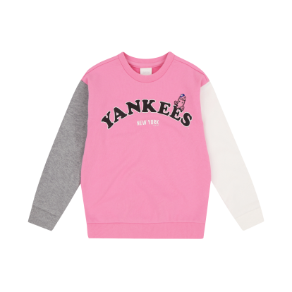 NEW YORK YANKEES UNISEX BARK COLOR BICOLOR SWEATSHIRT