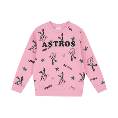 HOUSTON ASTROS GIRL'S ATTO SWEATSHIRT