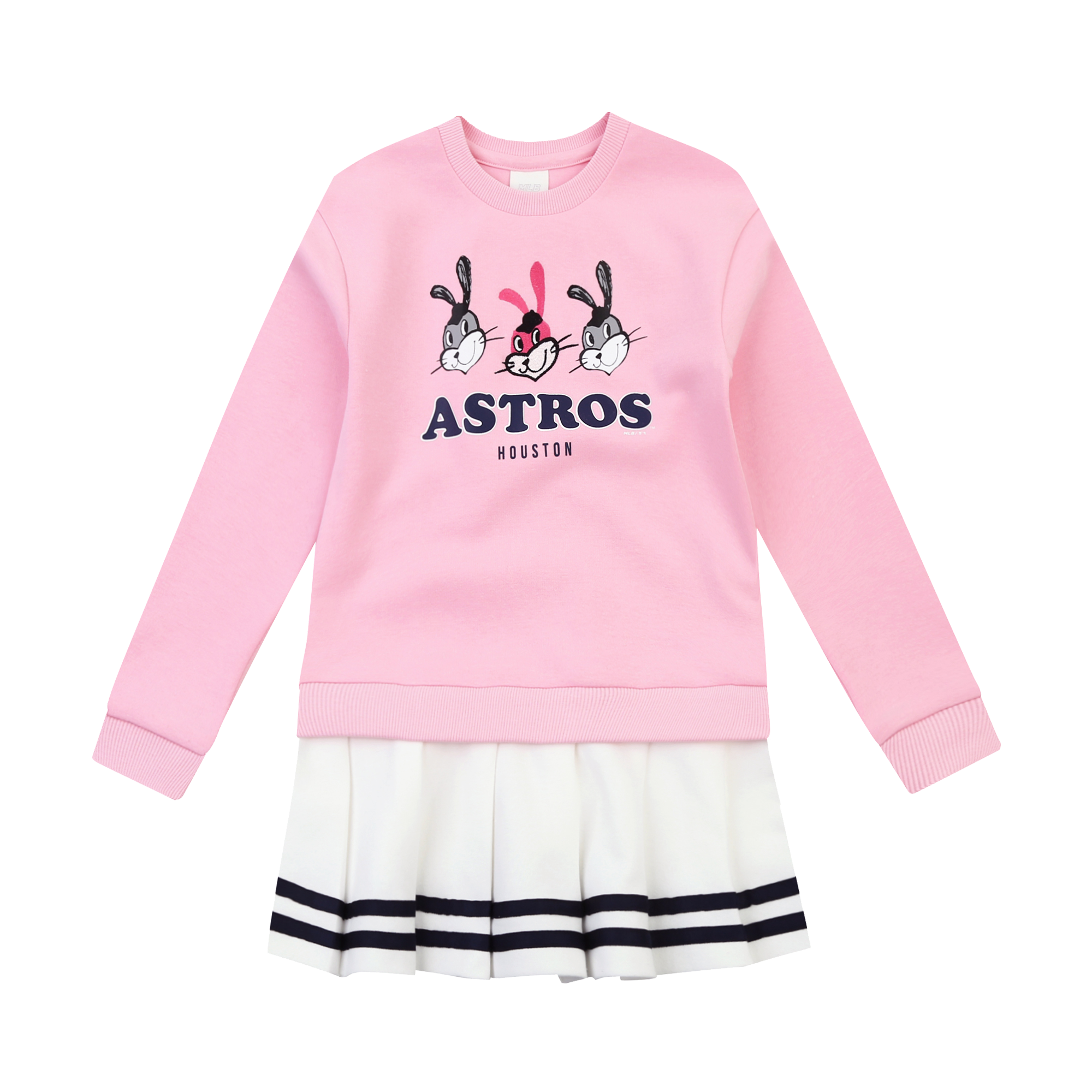 HOUSTON ASTROS GIRL'S ATTO PLEATS DRESS