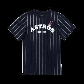 HOUSTON ASTROS GIRL'S ATTO STRIPE DRESS