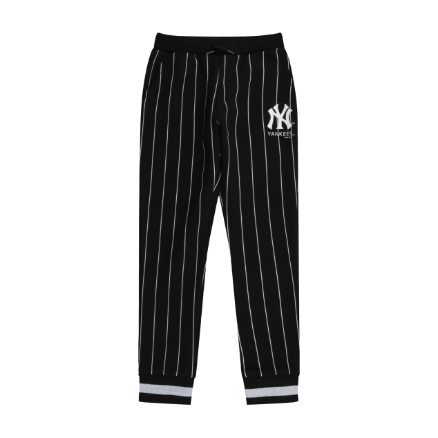 NEW YORK YANKEES UNISEX PIN STRIPE JOGGER PANTS