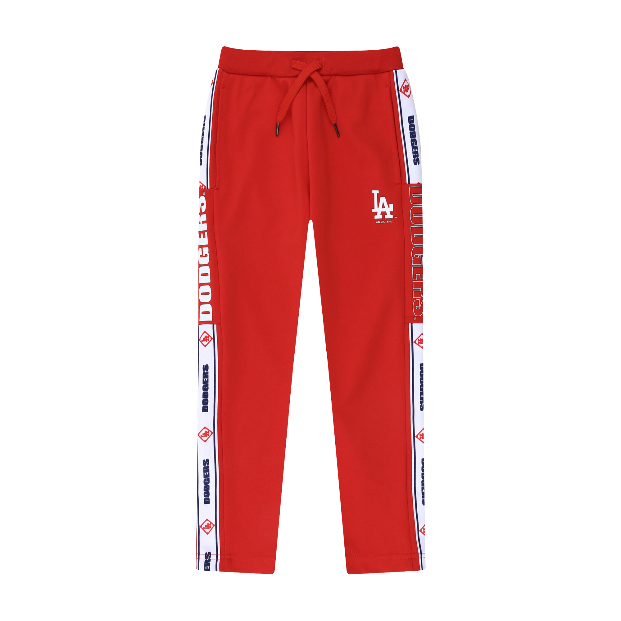 LA DODGERS UNISEX SIDELINE TAPE TRAINING PANTS