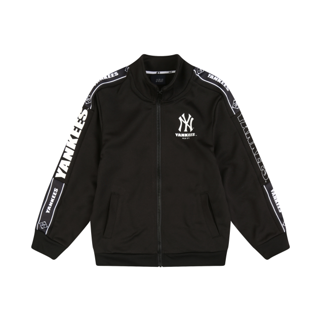 NEW YORK YANKEES UNISEX SLEEVE TAPE TRAINING ZIP-UP