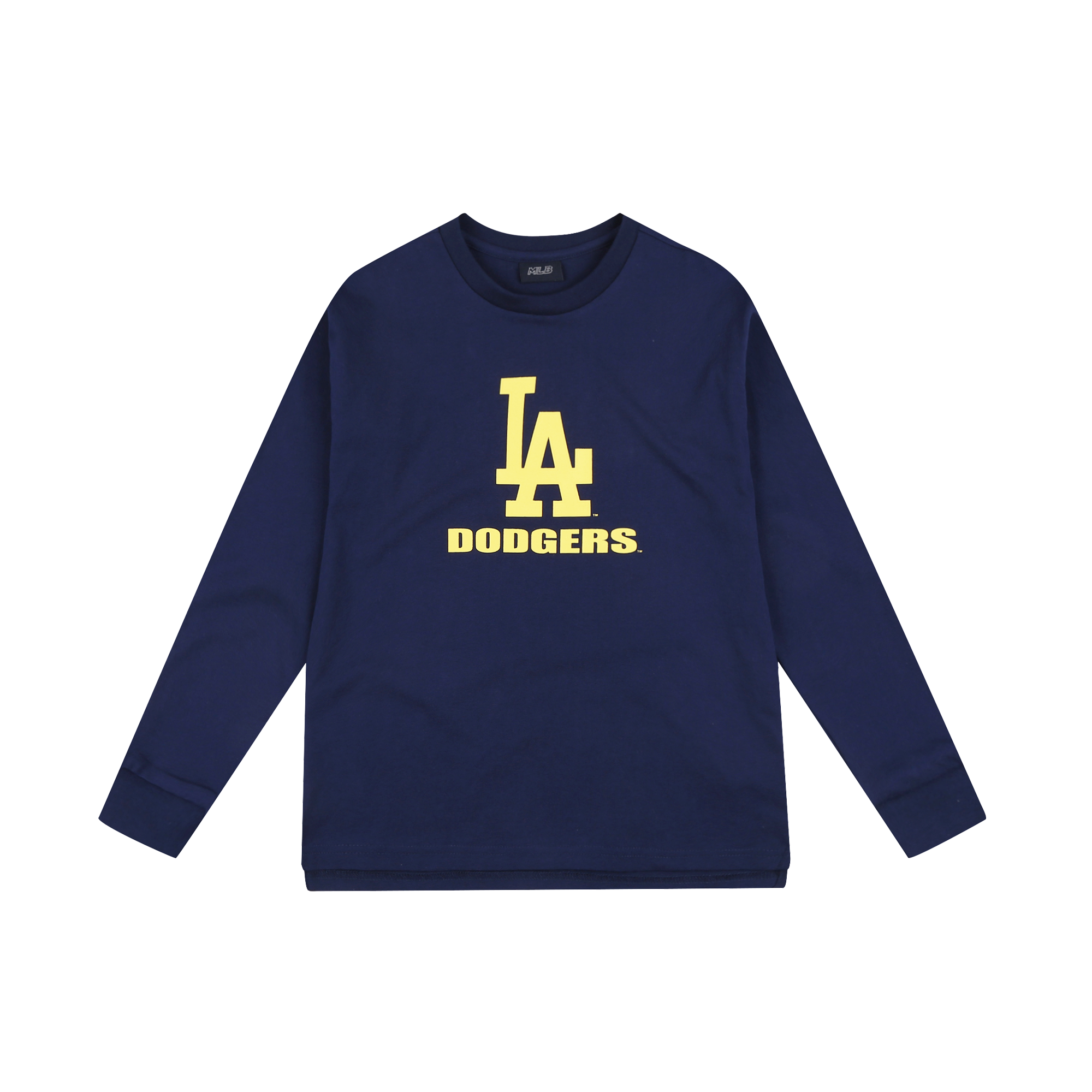 LA DODGERS UNISEX TWO TONE BICOLOR LOGO T-SHIRT