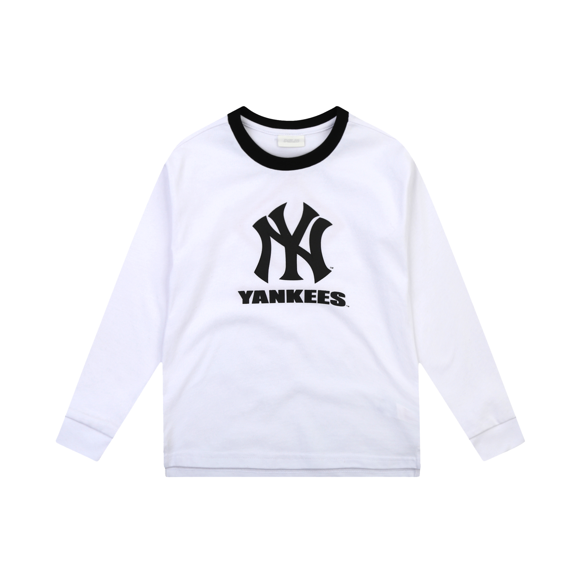 NEW YORK YANKEES UNISEX TWO TONE BICOLOR LOGO T-SHIRT