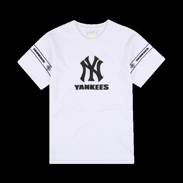 NEW YORK YANKEES UNISEX COLOR BIG LOGO SHORT SLEEVE T-SHIRT