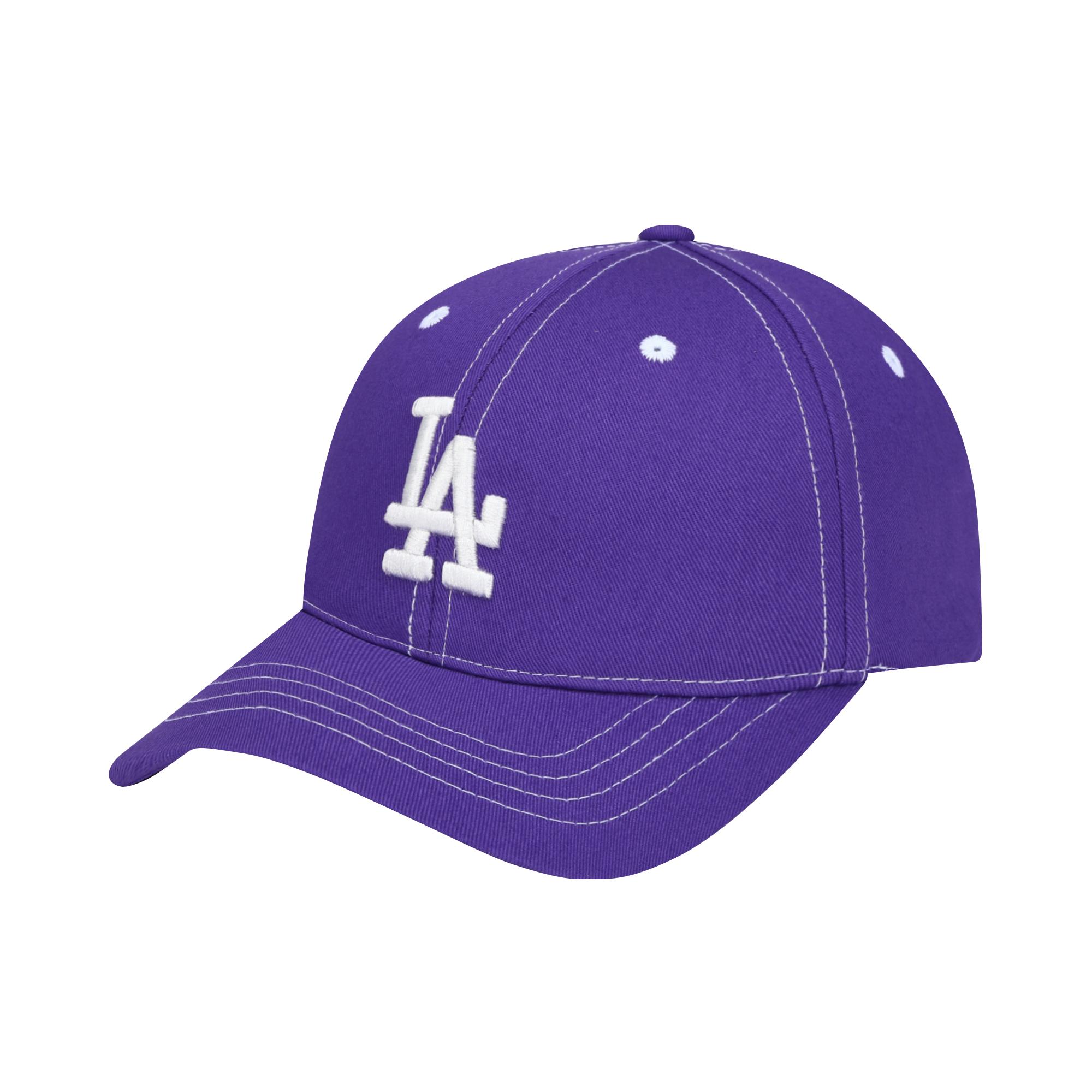 LA DODGERS STITCH POINT BALL CAP