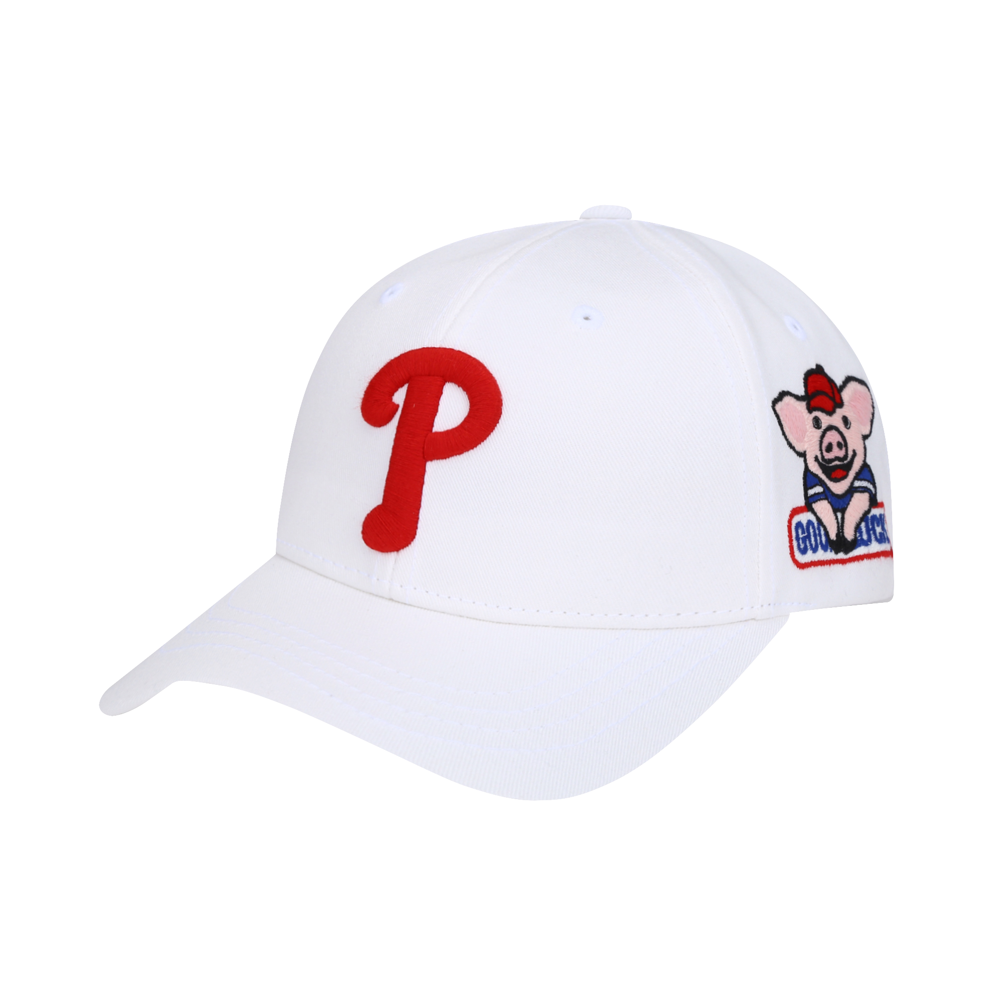 PHILADELPHIA PHILLIES HAPPY NEW YEAR LUCKY PIG CURVED CAP