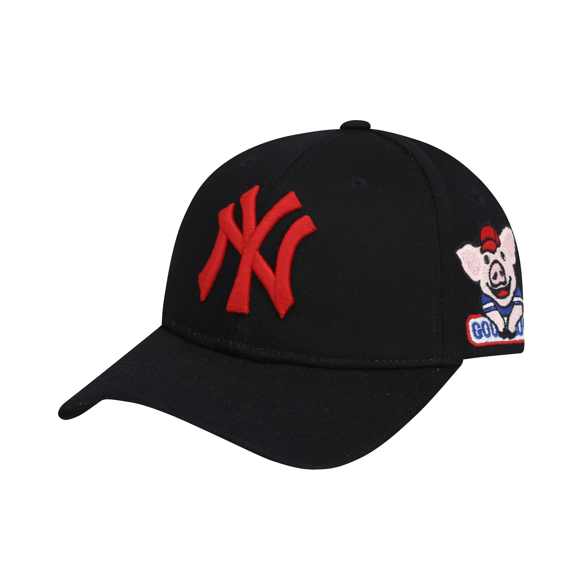 NEW YORK YANKEES HAPPY NEW YEAR LUCKY PIG CURVED CAP