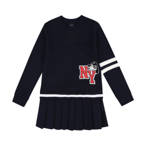 NEW YORK YANKEES BARK PLEATS DRESS