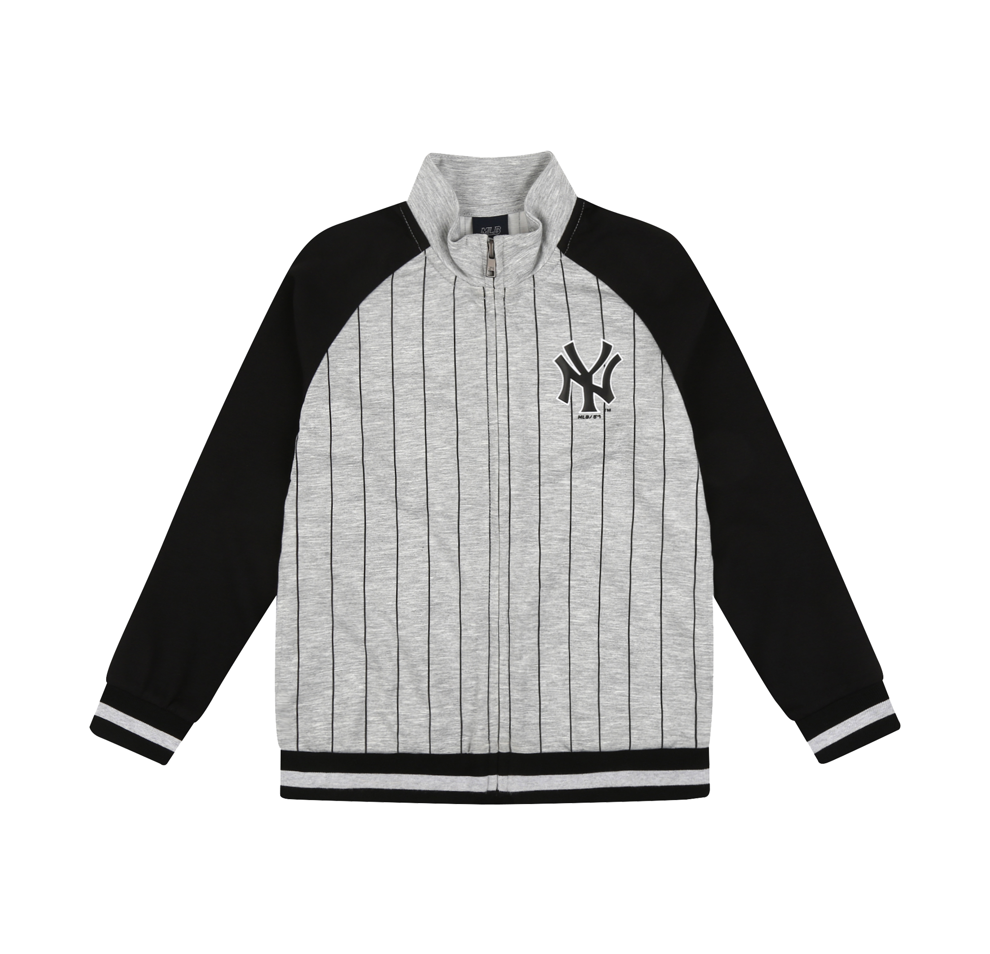 NEW YORK YANKEES UNISEX STRIPE TRAINING ZIP-UP